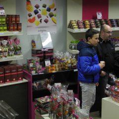 Bac Pro VENTE: Des chocolats à Rochefeuille