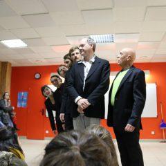 Bac Pro Services aux Personnes et aux Territoires : Du théâtre au lycée Rochefeuille d'Ernée