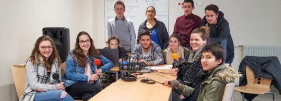 Une radio éphémère au lycée Rochefeuille