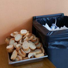 Qu'en est-il du gaspillage alimentaire au self de Rochefeuille ?