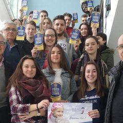 Une bonne action des élèves de 2nde BAC Pro vente du lycée Rochefeuille.