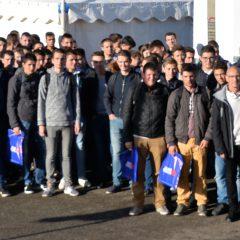 150 jeunes du Lycée Rochefeuille en visite au SPACE