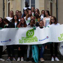 Un beau geste : les élèves de Bac Pro ont nettoyé la nature
