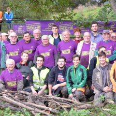 Un chantier inter-générationnel avec la Fédération de Pêche de la Mayenne