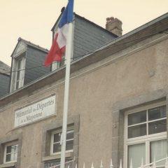 Les Apprentis CAP au Mémorial des Déportés de la Mayenne