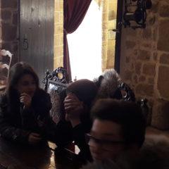 Les quatrièmes et troisièmes de Rochefeuille au château de Lassay