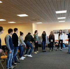 Atelier théâtre en Seconde SAPAT Mayenne