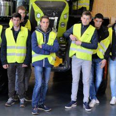 Visite des Premières CGEA chez CLASS Le Mans