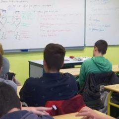 Reportage Chaîne LCI au lycée Rochefeuille